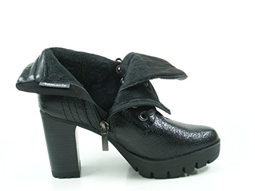 Schwarz 39 1 25741 Tamaris Boots 052 Womens xqgZBw4H