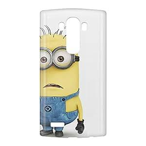 Loud Universe LG G4 Minion Bob Standing Print 3D Wrap Around Case - White