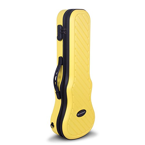 Crossrock CRA400CUYL Zippered Hardshell Lock Yellow