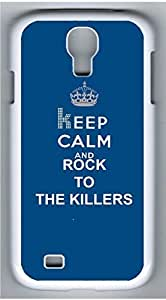 HTC One M8 White Hard Case - Keep Calm And Rock To The KillersHTC One M8s