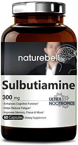 Amazon Com Naturebell Maximum Strength Sulbutiamine 300 Mg 60