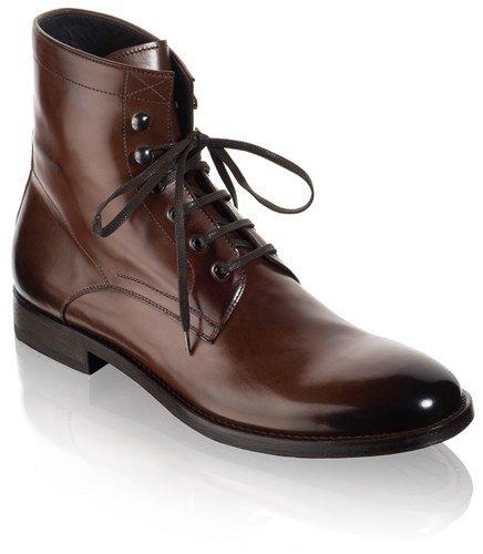 At Starte New York Mænds Astoria Almindeligt Toe Støvler Brun 5ovnuDB8x