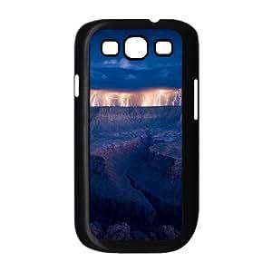 Lightning Custom Durable Hard Plastic Case Cover LUQ867122For Samsung Galaxy S3 I9300