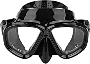 Diving Mask - Tempered Glass Diving Mask Swimming Goggles for Adults Scuba Equipment