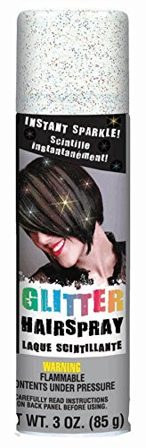 Amscan Multicolor Glitter Hairspray, Party