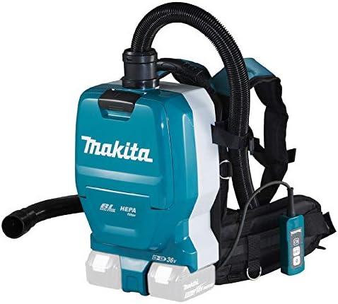 Makita DVC261ZX15 Aspirador con batería (2 x 18 V), Color: Amazon ...