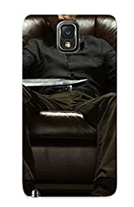 Protective Tpu Case With Fashion Design For Galaxy Note 3 (david Morrissey)