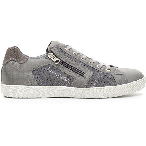 Nero Giardini 04960 Jeans Scarpa Uomo Sneaker Pelle Made in Italy