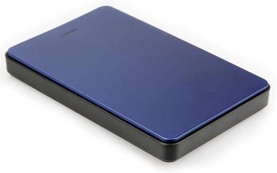 外付けハードドライブ、高速USB 3.0ハードディスク80ギガバイト/ 120ギガバイト/ 160ギガバイト/ 320ギガバイト/ 500ギガバイト大容量メモリモバイルハードディスク (Color : Blue, Size : 80GB)