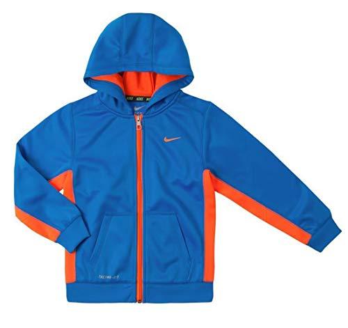 Nike Boys Legacy Therma-FIT Full-Zip Fleece Hoodie Size: 7, Photo Blue