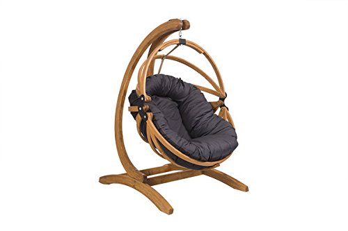 Liveoutside Gaya Hanging Chair With Wood Buy Online In India At Desertcart