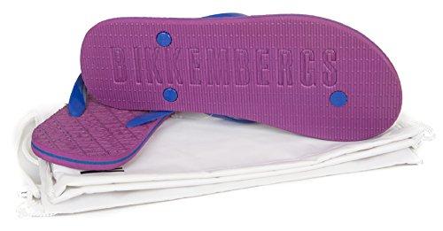 Flip Flops für Männer oder BIKKEMBERGS Schwimmbad Artikel B6A8024 7040 Purple