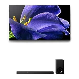 "Sony XBR-65A9G 65"" (3840 x 2160) Bravia 4K Ultra High Definition Smart OLED TV with the Sony HT-Z9F 3.1 Channel Bluetooth Built-In Wi-Fi Dolby Atmos Soundbar (2019)"