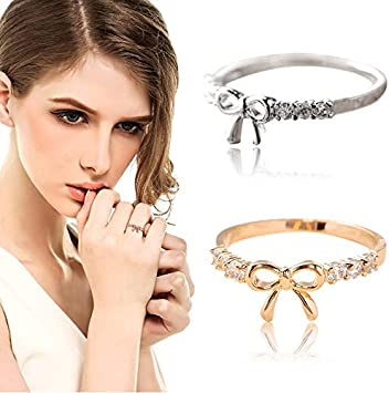 etc Ultra-Light Rings Jewelry Suitable Various Styles Refined Elegant Women Rings Altsommer Fashionable Women Rings A, 5 Wedding Gifts