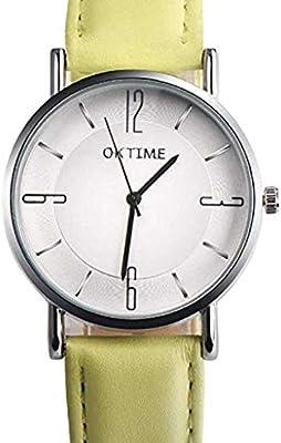 Limpieza de venta! Relojes para mujer, ICHQ Relojes de cuarzo para mujer, relojes analógicos de moda simples, relojes para adolescentes, chicas, cómodos, ...