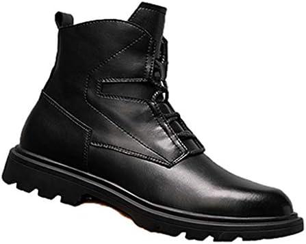 紳士靴 メンズ マーティンブーツ ショートブーツ 秋冬 歩きやすい 防水 防滑 ファッション 疲れない コンフォート 耐用 滑り止め ラウンドトゥ 柔らかい メンズ ブーツ ワークブーツ カジュアル 編み上げブーツ