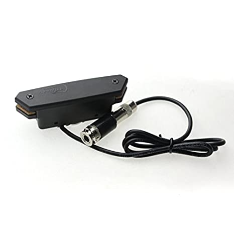 Surfear negro guitarra acústica ajuste pastilla Humbucker para guitarra eléctrica pastilla: Amazon.es: Instrumentos musicales