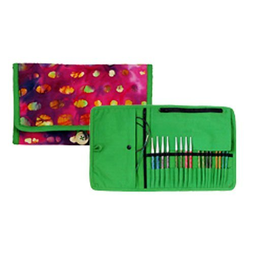 Knitter's Pride Eden Trail Interchangeable Needle Fabric Case 800125
