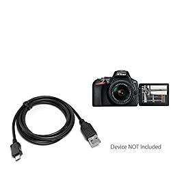 Nikon D5600 Cable, BoxWave [DirectSync Cable] Durable Charge and Sync Cable for Nikon D5600