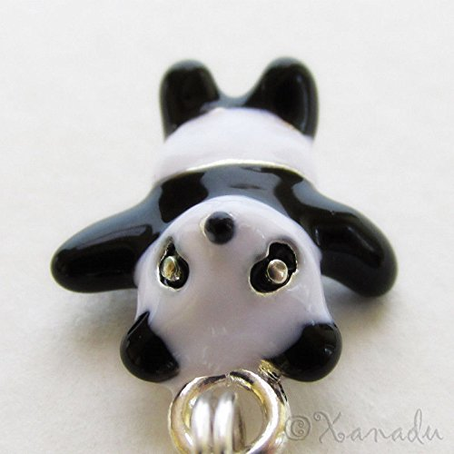 OutletBestSelling Pendants Beads Bracelet Panda Bear Black White Enamel European Charm Bead For And Necklaces
