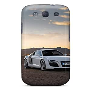 Perfect Hard Phone Case For Samsung Galaxy S3 (Nde4767JiUv) Allow Personal Design Colorful Audi R8 Image