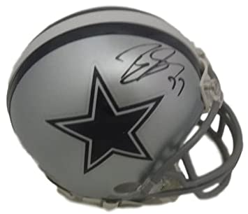 Amazon.com  Tyron Smith Autographed Dallas Cowboys Mini Helmet JSA  Sports  Collectibles 61ccfc129
