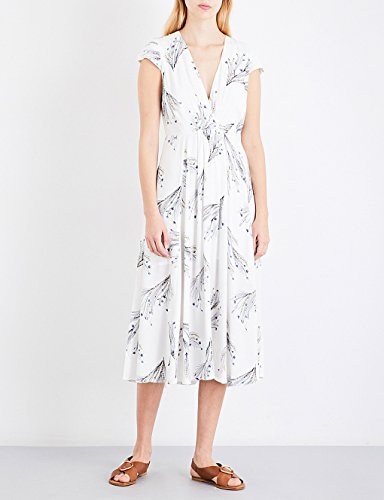 告白アンカー立場フリーピープル トップス ワンピース floral-print midi dress IVORY a2b [並行輸入品]