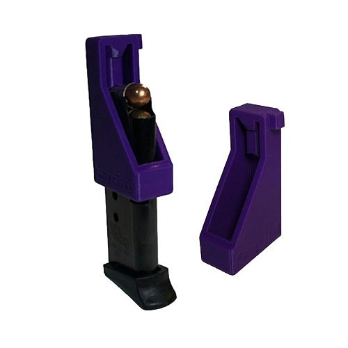 RangeTray Sig Sauer P238 .380 Caliber Magazine Loader Speedloader (Purple) (Extended Magazine For Sig P238)
