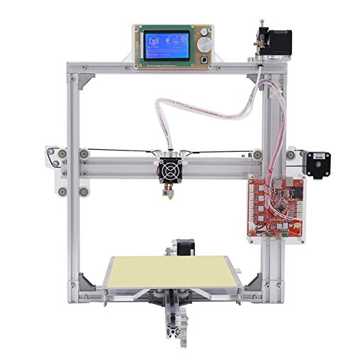GOWE 3d printer Anet A2 Silver 12864 LCD Metal aluminium frame With 8GB microSD and plastics as gift