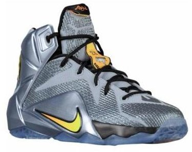 cheap for discount 4cb85 3f500 Nike LeBron 12 quot Flight Pack quot  ボーイズ キッズ Wolf Grey Bright Citrus