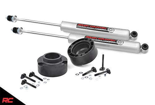 "Rough Country 2.5"" Leveling Kit (fits) 1994-2013 RAM Truck 2500 4WD Includes N3 Shocks Suspension System 374.20B"