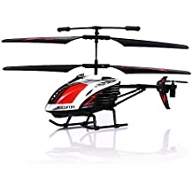 """GPTOYS G610 11"""" Durant Built-in Gyro Infrared Remote Control Helicopter Large Model 3.5 Channels with Gyro and LED Light for Indoor Ready to Fly"""