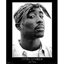 Tupac Shakur Memorial 2pac Urban Hip Hop Rap Music Poster 16 x 20 inches