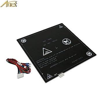 Amazon.com: Cama calefactable de aluminio Anet MK2 MK3 de 12 ...