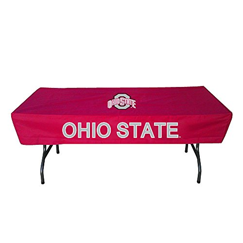 Rivalry Ohio State 6' Table Cover (Pool Table Nfl Cover)