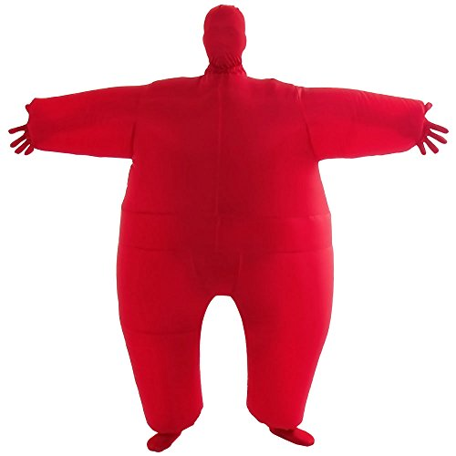 VOCOO Lnflatable Costumes Adult Size Inflatable Body Suits Pants (red) -