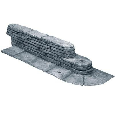 EmscoGroup 2032HD Bedrocks Trimfree Resin Slate Lawn Edging,