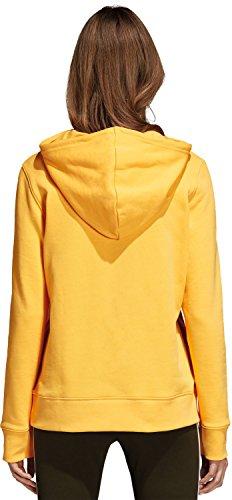 Felpa Arancione Donna Cappuccio Trefoil con adidas nartiz 7awqZCxpW4