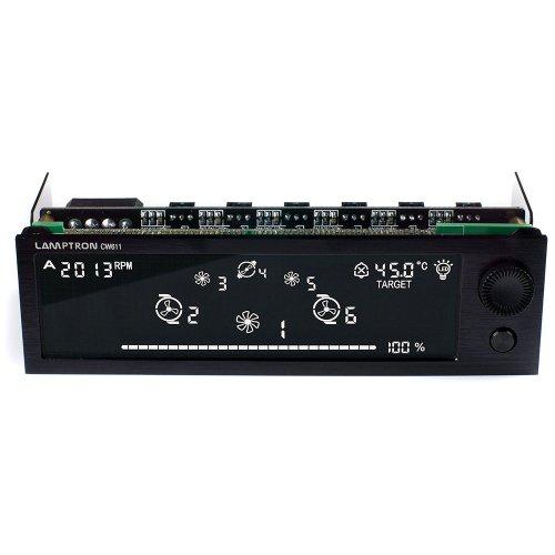 Lamptron CW611 36W - Customizable 6 Channel Aluminum Liquid Cooling Controller
