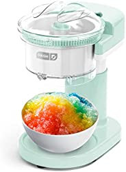 Dash Shaved Ice Maker + Slushie Machine with Stainless Steel Blades for Snow Cone, Margarita + Frozen Cocktail