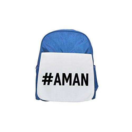 # Amani impreso Kid 's azul mochila, para mochilas, cute small Mochilas, cute negro mochila, Cool mochila negra, moda mochilas, Gran moda mochilas, negro moda mochila