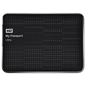 "Western Digital My Passport Ultra - Disco duro externo de 2 TB (5400 rpm, USB 3.0, 2.5""), negro"