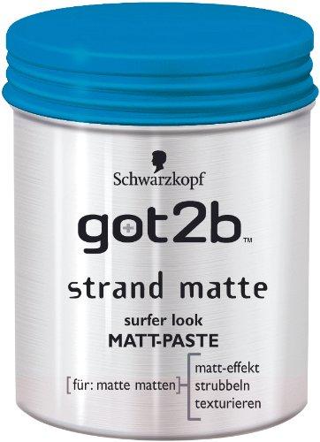Schwarzkopf got2b Strand Matte Styling Paste
