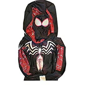 - 41I5QZS327L - Gwen Stacy Cosplay Costume Suit w/Hood, Mask, Lenses | Gwen Stacy Venom Spiderman Cosplay