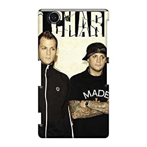 Shockproof Hard Cell-phone Cases For Sony Xperia Z3 Mini (Wxx12639Uvtd) Customized Colorful Good Charlotte Band Pictures