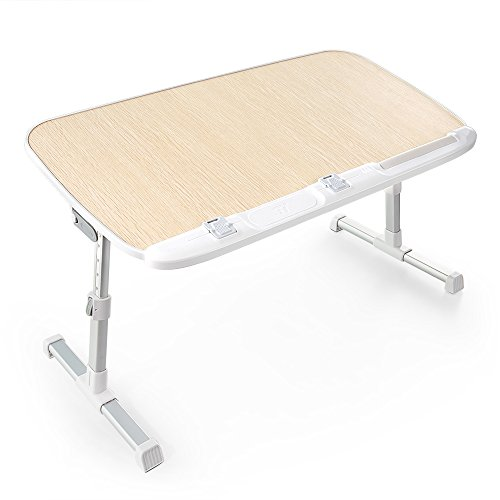 Sale!! TaoTronics Laptop Bed Desk Table Tray Lap Desk for Adults for Eating Writing