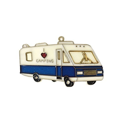 RV Christmas Holiday Camping Tree Ornament Class A (I Love Camping)