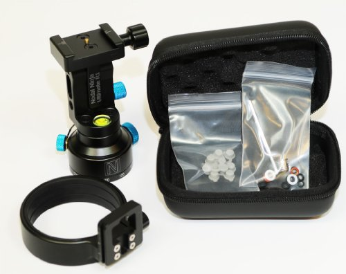 - Nodal Ninja R1 Adjustable Tilt Ring Clamp Style Panoramic Tripod Head - fits Canon EF 15mm Lens