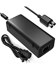 Xbox 360 Slim Power Supply, YCCSKY AC Adapter Power Supply Charger Brick with Cable for for Xbox 360 Slim
