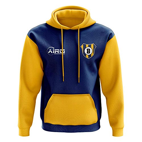 Airosportswear Boca Junior Concept Club Football Hoody (Blue)
